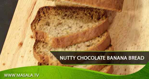 Nutty Chocolate Banana Bread