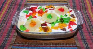 Jelly Fruit Custard