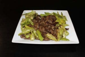 Dry Beef Chilies