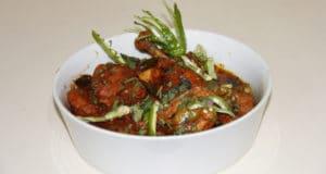 Hyderabadi laal chicken