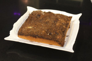 Crunchy-top Cake