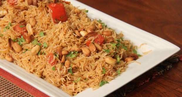 Peanut Tomato Rice - Masala TV