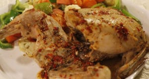 Steamed Herb Chicken