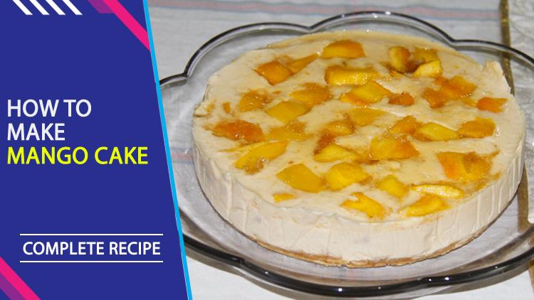 Cake Icing Recipe By Zarnak: Mango Cake