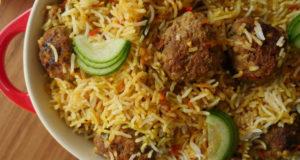 Kofta Biryani by Zubaida Tariq in Handi