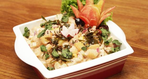 Chatpata potato salad