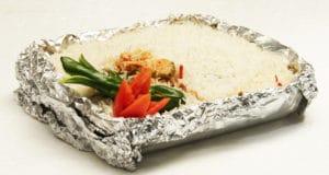 Foily chicken rice