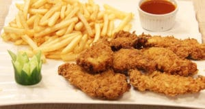 Italian Chicken Strips and Chips