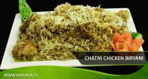 Chatni Chicken Biryani