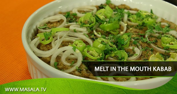 Melt-in-the-Mouth Kabab