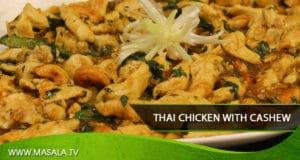 Thai Chicken with Cashew