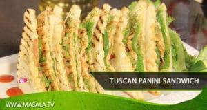 Tuscan Panini Sandwich