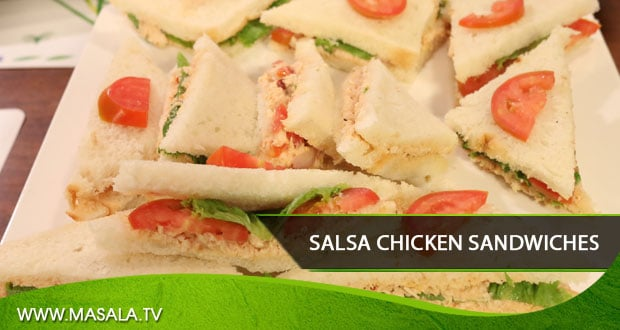 Salsa Chicken Sandwiches