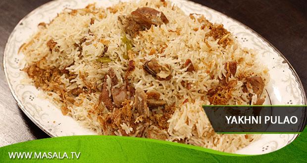 Yakhni Pulao By Zubaida Tariq - Masala TV