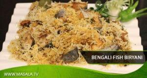 Bengali Fish Biryani