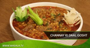 Channay ki Daal Gosht