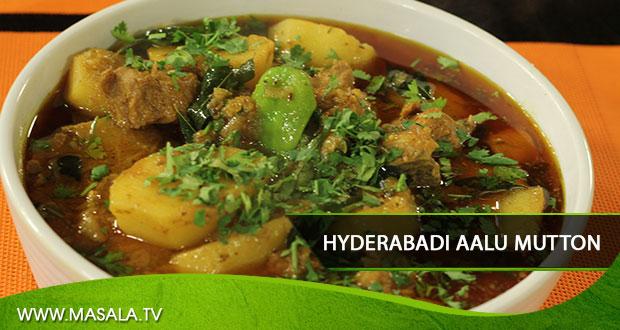 Hyderabadi Aalu Mutton  By Zubaida Tariq