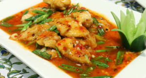 HOT AND SOUR STIR FRY FISH BY SHIREEN ANWAR