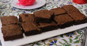TRIPLE CHOCOLATE DEEP DISH BROWNIE BY SHIREEN ANWAR