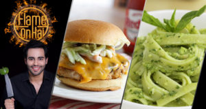 Mexican Chicken Burger by Chef Basim Akhund – Flame On Hai