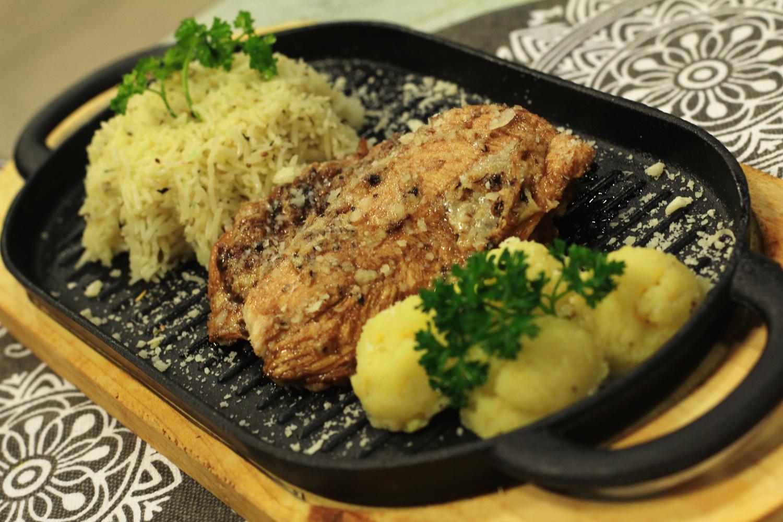 Italian Parmesan Steak