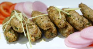 Baked Chicken Seekh By Mehboob Khan
