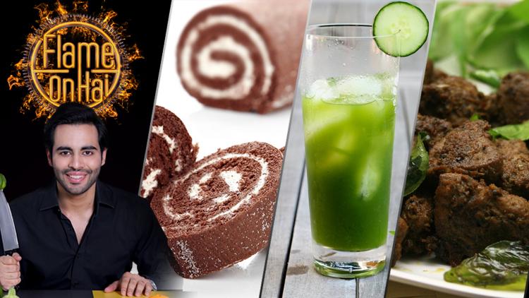 Cucumber Cooler & Masala Liver by Chef Basim Akhund – Flame On Hai