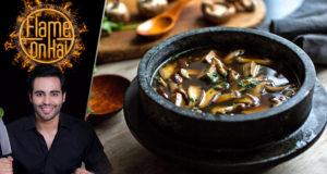 Mushroom Broth by Chef Basim Akhund – Flame On Hai