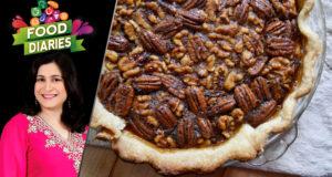 Walnut Pie Cake by Chef Zarnak Sidhwa – Food Diaries