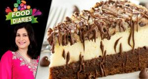 Brownie Cheesecake by Chef Zarnak Sidhwa – Food Diaries