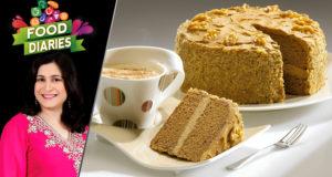 Coffee Gateau by Chef Zarnak Sidhwa – Food Diaries