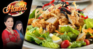 Cold Chicken Salad by Chef Zubaida Tariq – Handi