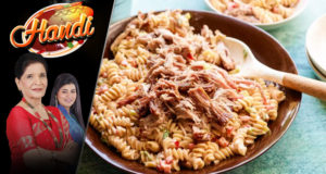 Barbecue Pasta Salad by Chef Zubaida Tariq – Handi
