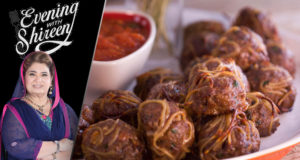 Spaghetti Balls by Chef Shireen Anwar – Evening With Shireen