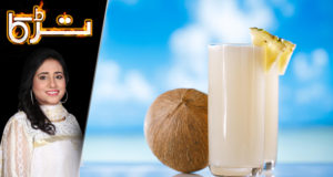 Chilled Coconut Shake by Chef Rida Aftab – Tarka
