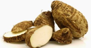 Tip for Itching while Cutting Colocasia Root