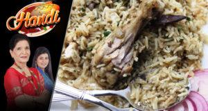 Chicken Yakhni Pulao – Handi
