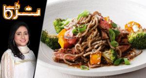 Honey Beef Noodles by Chef Rida Aftab – Tarka