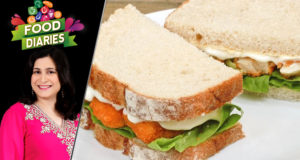 Fish Finger Sandwich Recipe by Chef Zarnak Sidhwa