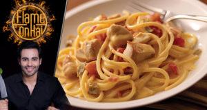 Spaghetti With Chicken Recipe by Chef Basim Akhund