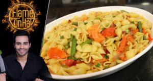 Pasta And Chilli Tomatoes Recipe by Chef Basim Akhund