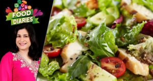 Grilled Chicken Salad Recipe by Chef Zarnak Sidhwa