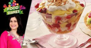 Strawberry Trifle Recipe by Chef Zarnak Sidhwa