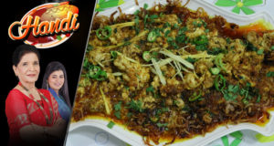 Masalaydar Maghaz Recipe by Chef Zubaida Tariq