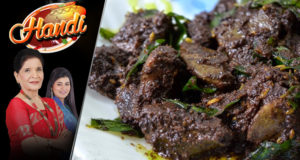 Talay Hoye Gurday Recipe by Chef Zubaida Tariq
