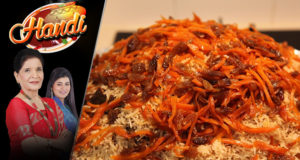Afghani Pulao Recipe by Chef Zubaida Tariq