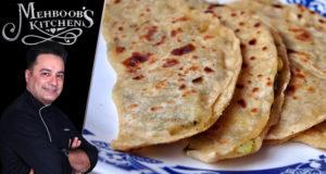 Afghani Bolani Recipe by Chef Mehboob Khan