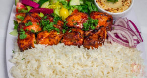 Tandoori Chicken Rice Platter