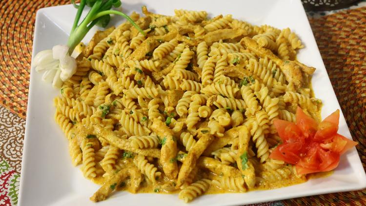 Spicy Chicken Pasta Recipe  Masala TV