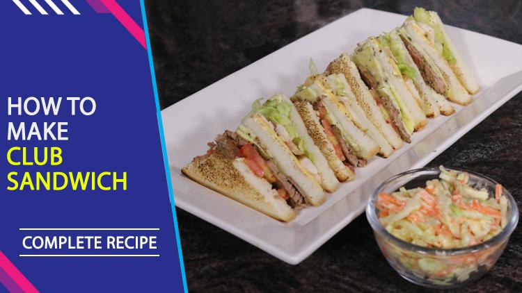 Club Sandwich Recipe by Chef Mehboob Khan - Masala TV